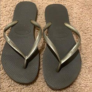 Haviana flip flops gray